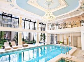 Queen's Court Hotel & Residence, hotel u Budipmešti