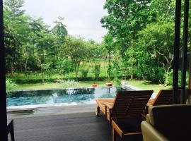 Flamingo Happy Villa E17, family hotel in Dai Lai