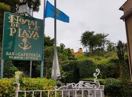 Hostal de la Playa, hotel cerca de Playa de Torimbia, Barro