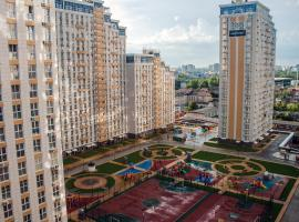 Apartment in ZHK Bolshoy, hotel near Botanical Garden of Professor I. S. Kosenko, Krasnodar