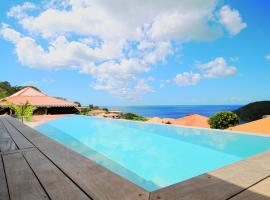 Villa infiniti swimming pool MQAA08, Cottage in Les Anses-d'Arlets