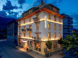 Hotel Ambassador, Hotel in Brig