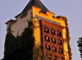 Breuer's Rüdesheimer Schloss, hotel near Kandrich mountain, Rüdesheim am Rhein