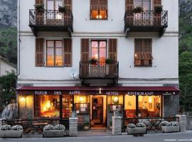 Hôtel Fleur des Alpes, hôtel à La Brigue