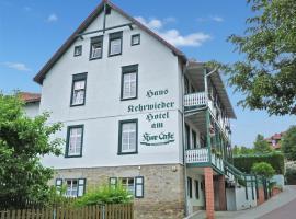 Haus Kehrwieder - Hotel am Kur-Café, ξενοδοχείο σε Bad Suderode