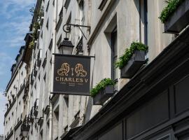 Charles V, hotel en Le Marais, París