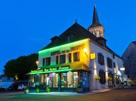 Logis Hotel De La Poste, hôtel à Saint-Sauves- d'Auvergne