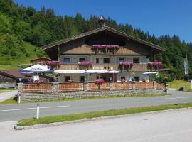Gasthaus Mamooserhof, hotel in Hopfgarten im Brixental