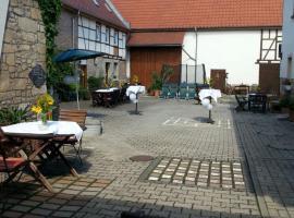 Landpension Gutshof Grossheringen, Hotel in der Nähe von: Burg Saaleck, Großheringen