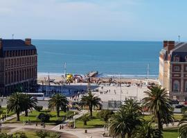 Departamento Plaza Colón, Mar del Plata, hotel cerca de Playa Bristol, Mar del Plata