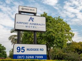 Airport Admiralty Motel, hotel with pools in Brisbane