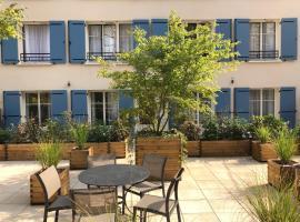 La Maison d'Eugène Appart'Hôtel - Centre Historique, hotel in Honfleur