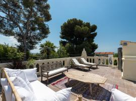 Villa centre ville proche plage, hotel with jacuzzis in Nice