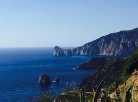 """Appartamento """"Magnifica vista sul mare"""", holiday rental in Nebida"""