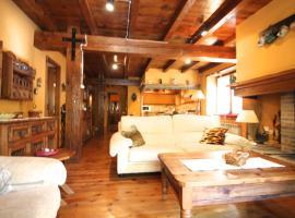Pleta Aldosa, Casa rustica con chimenea y jardin, Zona Vallnord, hotel in La Massana