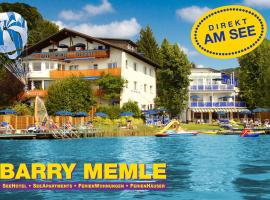 Barry Memle Directly at the Lake, Hotel in Velden am Wörthersee