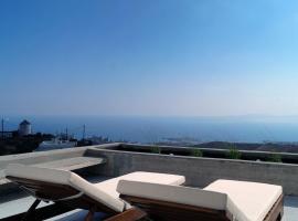 Inspire Aegean Sea Triantaros, hotel near Moni Koimiseos Theotokou Kechrovouniou, Triandáros