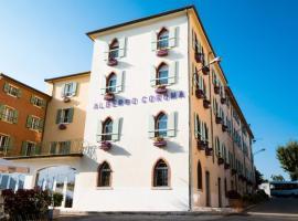 Hotel Corona, hotell i Spiazzi Di Caprino