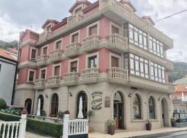 Pension Areas, hotel in O Pindo