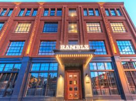 The Ramble Hotel, hotel near Colorado History Museum, Denver