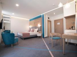City Nest Modern & Cozy Suites: Belgrad'da bir Oda ve Kahvaltı