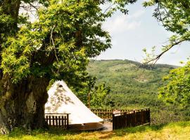 Podere di Maggio - Canvas tent Chestnut, luxury tent in Santa Fiora