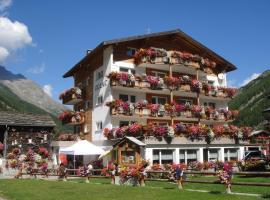 B&B Haus Granit Saas Grund, hotel in Saas-Grund
