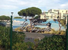 Port Camargue Les Terrasses de l'Espiguette, hotel in Le Grau-du-Roi