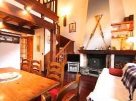 Apartamento rustico con chimenea, Arinsal , Vallnord D2, hotel in Arinsal