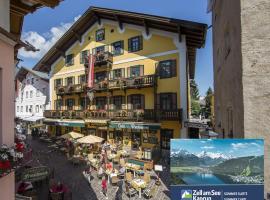 Hotel Lebzelter, hotel v destinaci Zell am See
