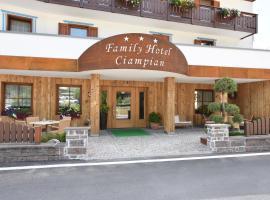 Hotel Ciampian, hotel in Moena