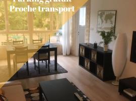 T2 proche PARIS et gare TGV MASSY, self catering accommodation in Massy