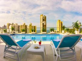 Hotel Tayrona del Mar, hotel en Santa Marta