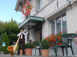 Hotel Alphorn, hotel near Interlaken Ost Train Station, Interlaken