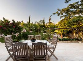 JACUZZI Villa, 5min to Kallithea Thermal Springs, hotel in Kallithea (Rodos)
