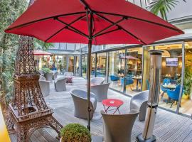 Hôtel Hor Europe, hotel near Marx Dormoy Metro Station, Paris