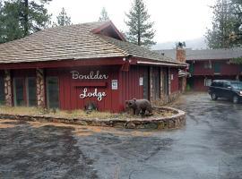 Boulder Lodge, hotel in June Lake