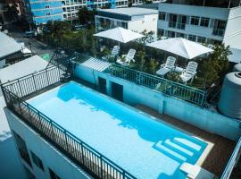 Rak Elegant Hotel Patong, hótel á Patong-ströndinni