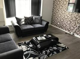 Central 2 Bed Apartment (1), hotel in Leicester