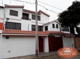 Villa Soriana, family hotel in Lima