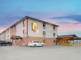 Super 8 by Wyndham Spokane/West, hotel near Spokane International Airport - GEG,