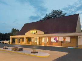 Super 8 by Wyndham Asheville Airport, hotel in Fletcher