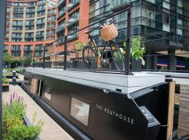 The Boathouse, hotel near Paddington Station, London