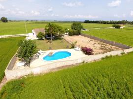 Chalet Garcia, country house in Deltebre