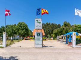 Camping Santa Tecla, campsite in A Guarda