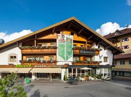 Hotel Hubertushof, hotel near Fernpass, Lermoos