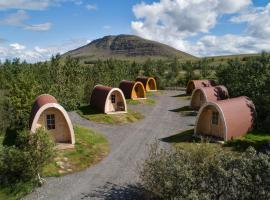 Fossatun Camping Pods & Cottages - Sleeping Bag Accommodation, campground in Fossatún