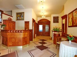 Restaurace a hotel Fortna, hotel v Chrudimi