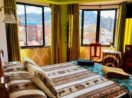 Hostal Iskanwaya, bed and breakfast en La Paz