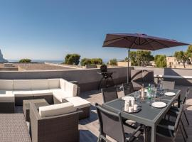 Le Vallat vue mer cassis terrasse privative spa jacuzzi barbecue calanques